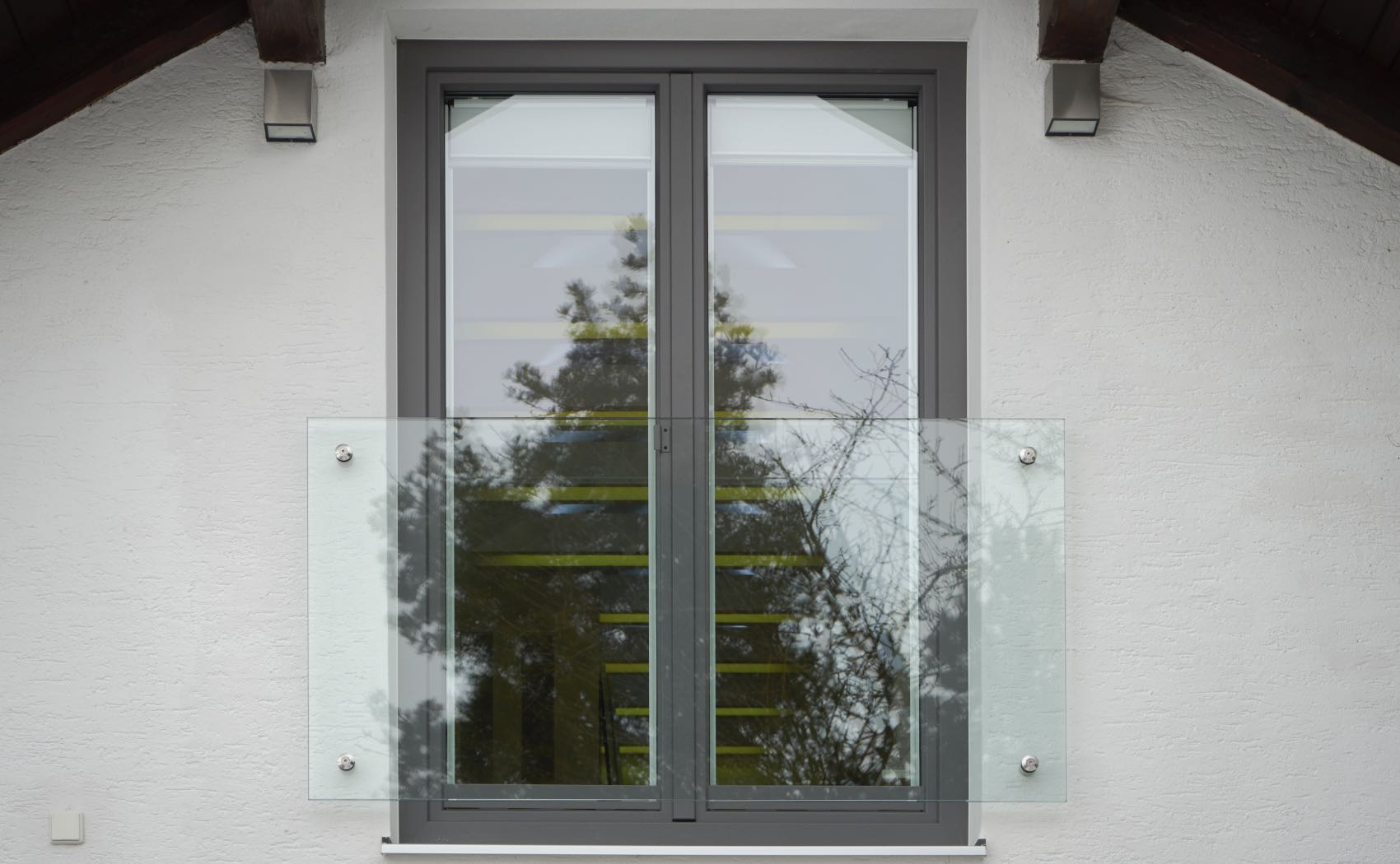 Fenster mit Absturzsicherung aus Glas